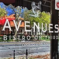 Wine Wednesday: Avenues Bistro Wine Dinner