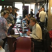 Many flocked to the Salt Lake County building on Tuesday to take advantage of the program.