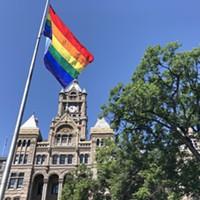 A Rainbow Over City Hall
