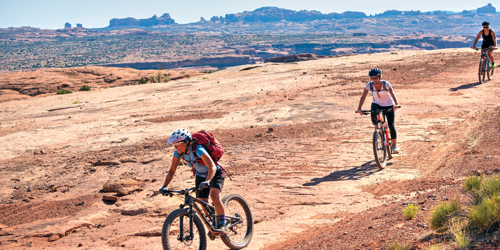 Courthouse Loop, Near Arches - FRANKLIN SEAL RIM TOURS—MOAB, UTAH