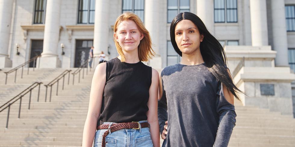 Elizabeth Love and Ermiya Fanaeian - SARAH ARNOFF