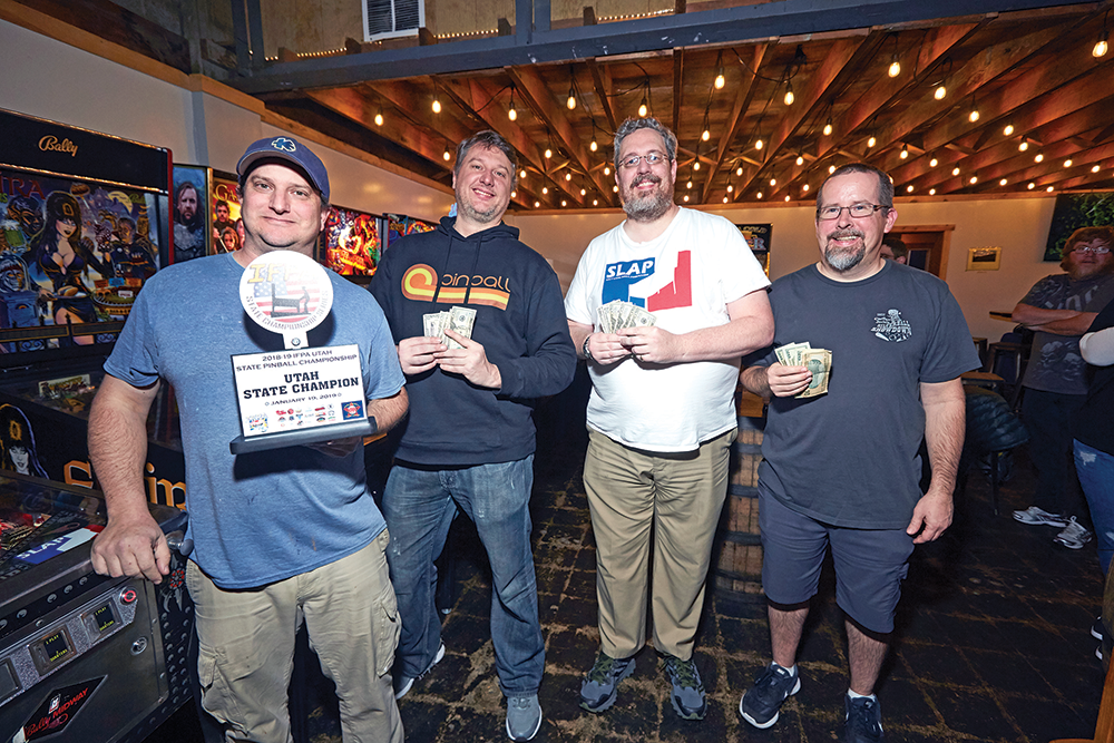 Left to right: Mike Lund, Dan Newman, Mark Laird and Steve Strom. - STEVEN VARGO