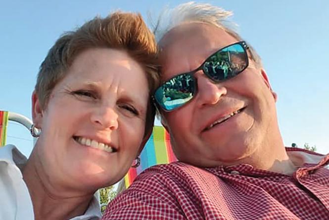 Jodie and Doug Palmer - COURTESY PHOTO