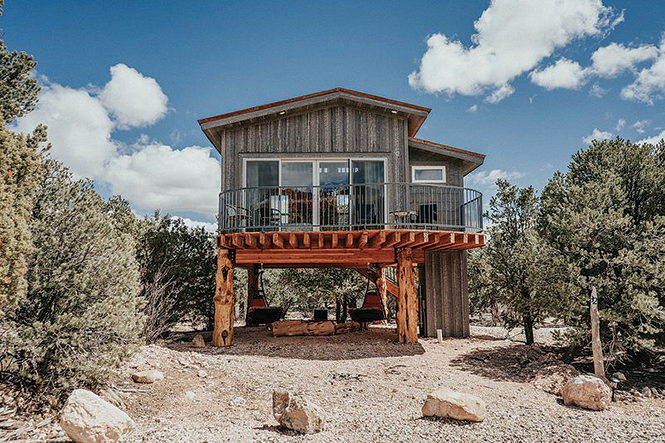 Stone Canyon Inn's Treehouse lodging in Tropic - COURTESY PHOTO