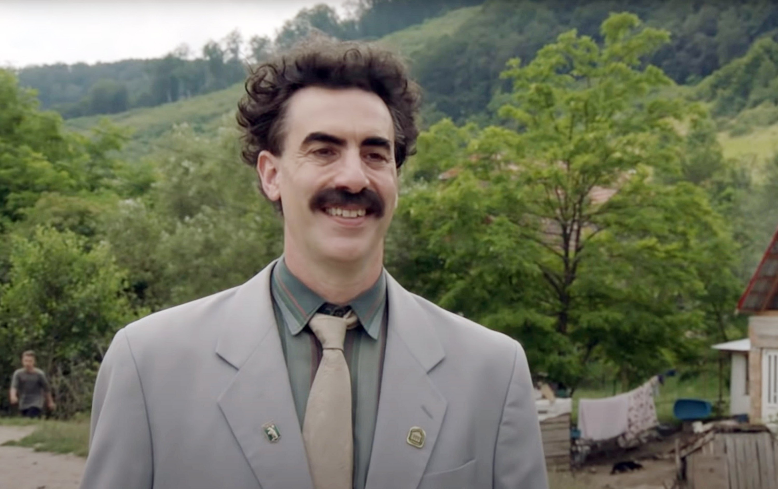 Sacha Baron Cohen spent five days of lockdown in character as Borat