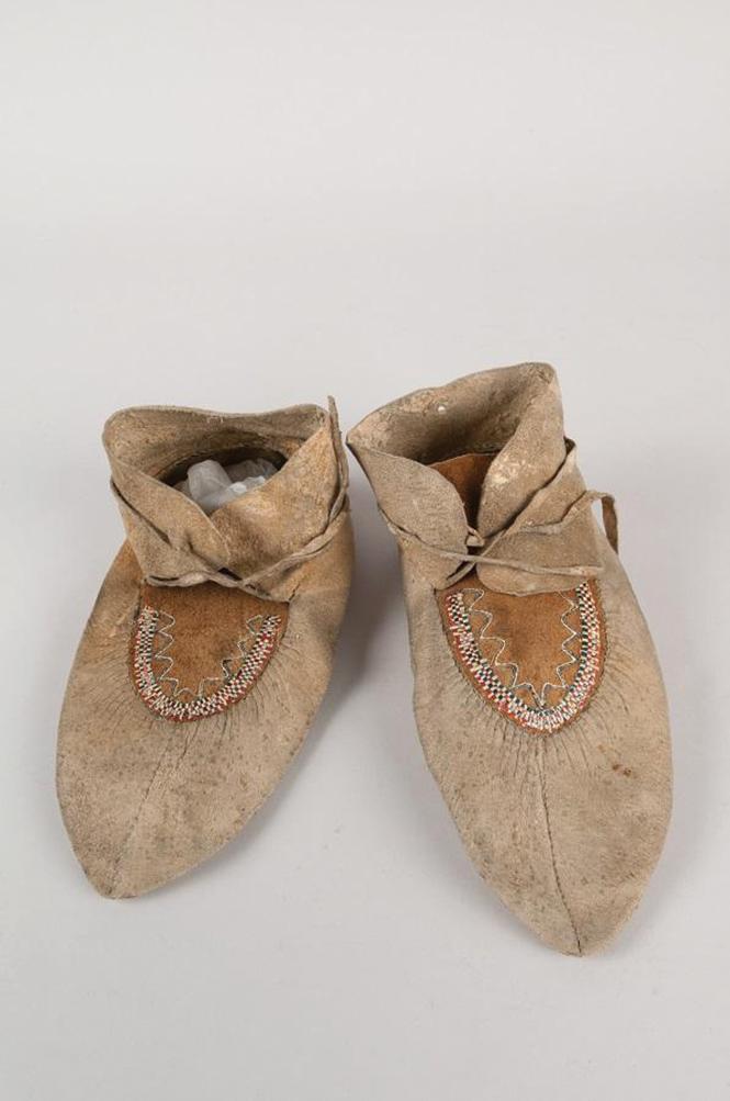Moccasins, Spalding-Allen Collection