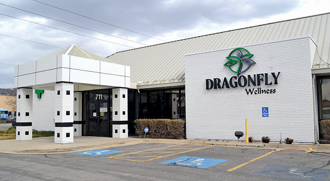 In March 2020, Dragonfly Wellness, in Salt Lake City, became the state's first cannabis pharmacy to open. - COURTESY PHOTO