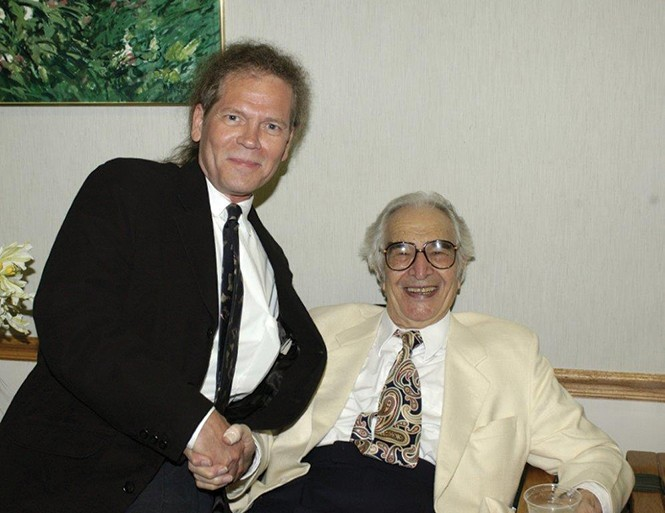 Steve Williams and the late Dave Brubeck