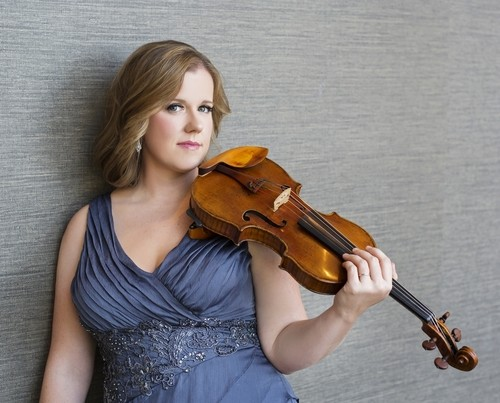 Madeline Adkins, Utah Symphony's newly appointed concertmaster. - COURTESY OF CASSIDY DUHON
