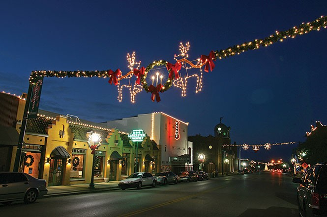 "Main Street, Grapevine: ""The Christmas Capital of Texas"""
