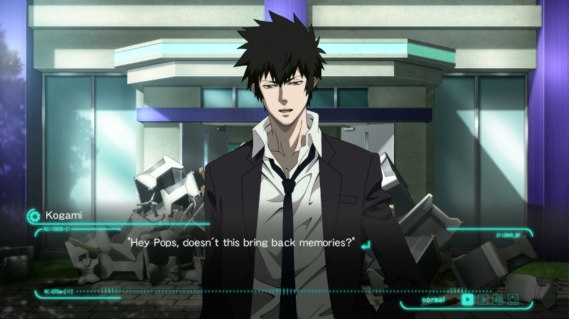 Yeah, it reminds me of the first eight episodes. Way to break that fourth wall. - NIS AMERICA
