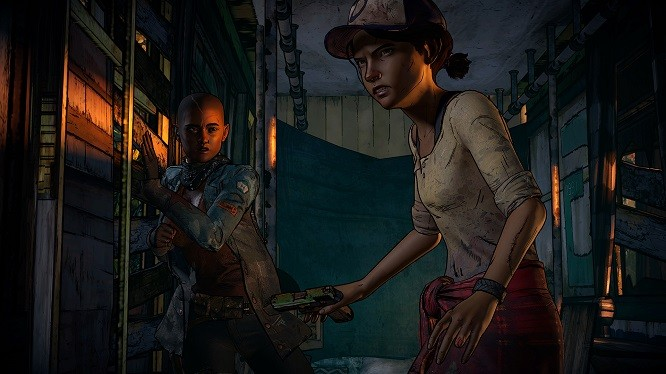 When the zombies come, and they kill everyone like they always have... WHAT. WILL YOU. BECOME? - TELLTALE GAMES