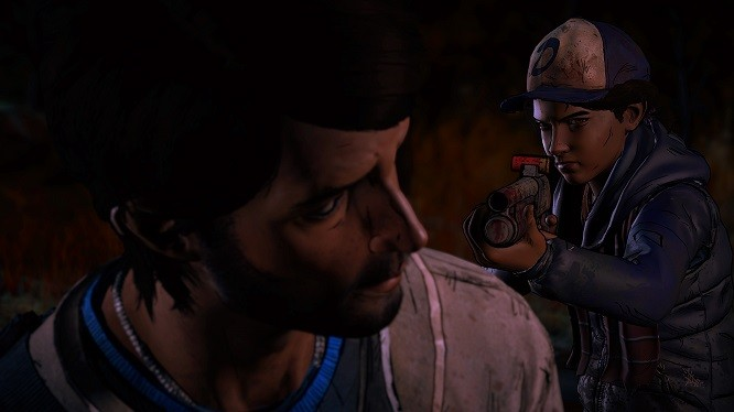 Look, kid. All I wanted was some Samoas and all I got is a card. Why do you need cash?!? - TELLTALE GAMES