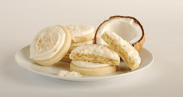 My Cookie Fix's - coconut crème cookies - GRANT HANSEN