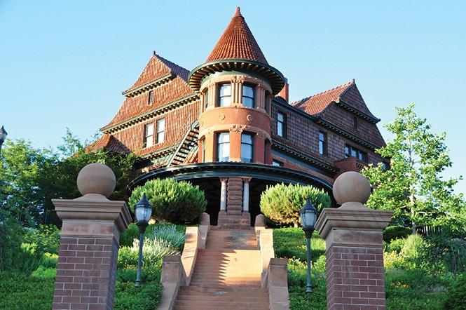 The McCune Mansion - DEREK CARLISLE