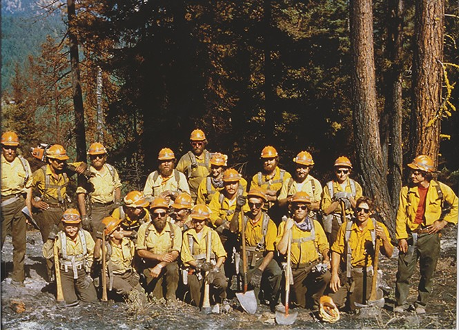 1982 ZigZag Hotshots group shot. - U.S. FOREST SERVICE
