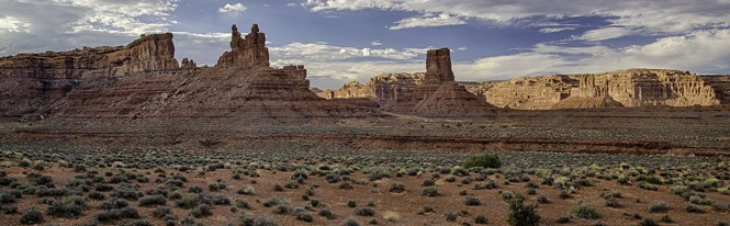 Plain on Valley of the Gods.