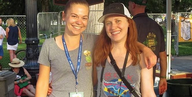 Crafty Beer Girls Lauren Lerch and Jenni Shafer - VIA REDROCKBREWING.COM