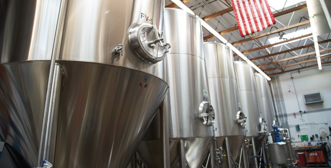 7. Fermentation tanks