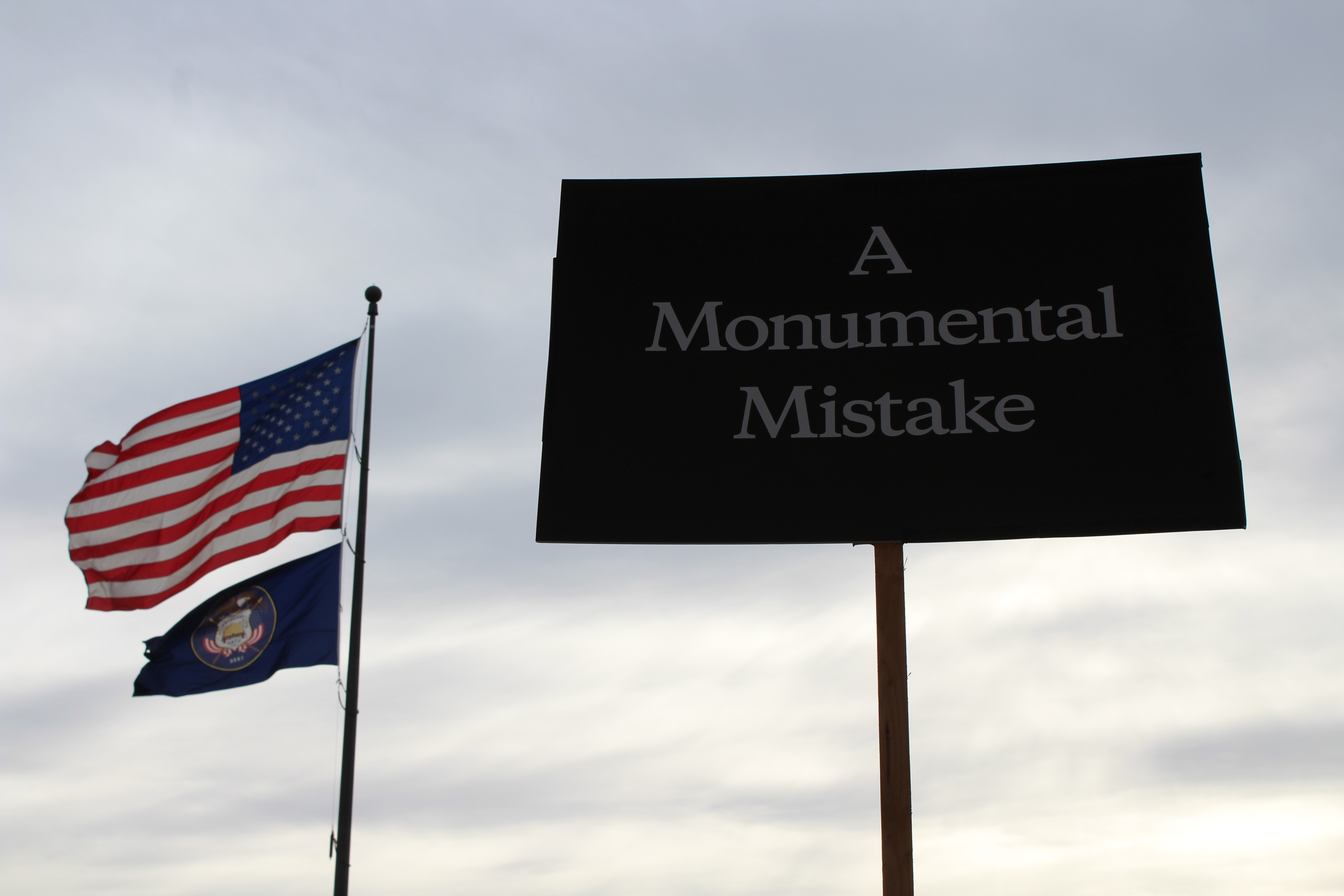 Environmentalists say Donald Trump does not have authority to shrink Utah monument