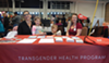 "Jerica Pixton, left, and Ariel Malan, with Pixton's kids in tow, participate in an annual health fair to reach out to Latinx communities. ""There's always work to be done,"" Pixton said."