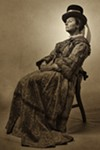 Teresa Sanderson as Mary Todd Lincoln