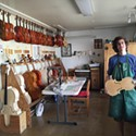 Marinos Glitsos of the Violin Making School of America