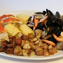 Monday Meal: July 4th Stovetop Seafood Bake