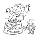 Can Congress override a presidential pardon?