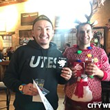 City Weekly's Reindeer & Beer Crawl 12.16.17
