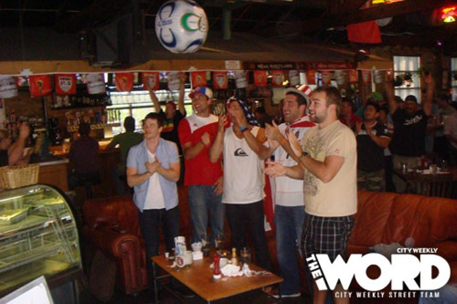 World Cup Wake-Up at Fiddler Elbow 6.18.10
