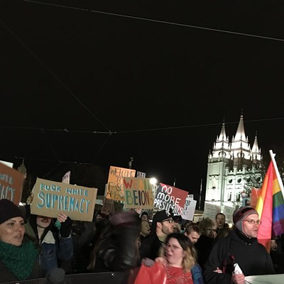 Women's March SLC - Jan. 20, 2017