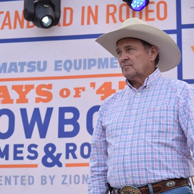 Ryan Zinke Visits Days of '47 Rodeo