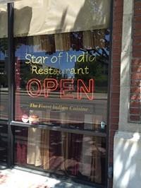 Star of India Restaurant in Salt Lake City
