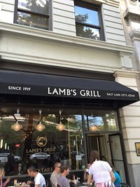Lambs Grill Restaurant in Salt Lake City