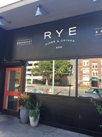 Rye restaurant in Salt Lake City