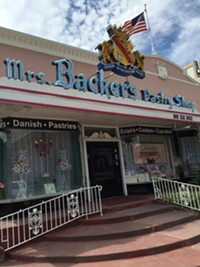 Mrs. Backer's Pastry Shop in Salt Lake City