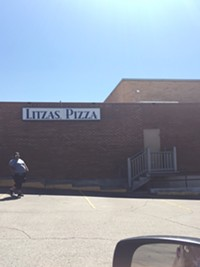 Litza's Pizza restaurant in Salt Lake City