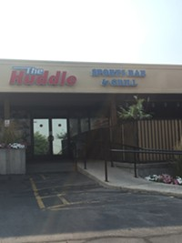 Huddle Sports Bar in Salt Lake City