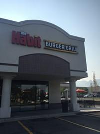 Habit Burger Grill Restaurant in Salt Lake City