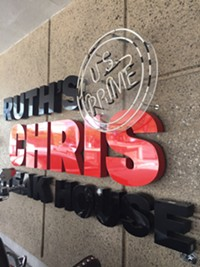 Ruth's Chris Steak House Restaurant in downtown Salt Lake City