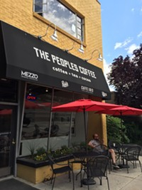The People's Coffee in downtown Salt Lake City