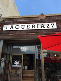 Taqueria 27 Restaurant in downtown Salt Lake City