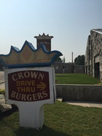 Crown Burgers Restaurant in Salt Lake City
