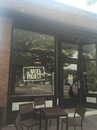 The Bagel Project in downtown Salt Lake City