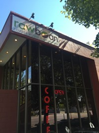 Raw Bean Coffee in downtown Salt Lake City