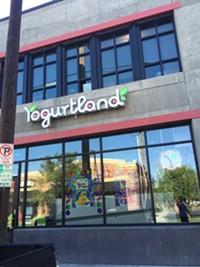 Yogurtland in Salt Lake City