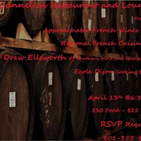 Wine Wednesday: French Food & Wine Dinner @ Cannella's