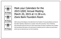 USDC Annual March Meeting at Zions Bank