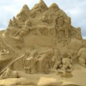 Utah Arts Fest: Ted Siebert Sand Sculpture
